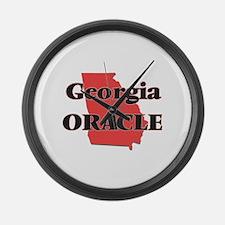 Georgia Oracle Large Wall Clock