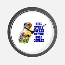Kill Every Gopher on the Golf Wall Clock