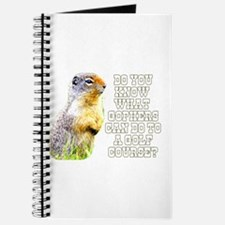 Do You Know What Gophers Can Journal