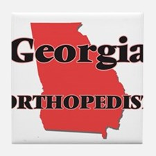 Georgia Orthopedist Tile Coaster