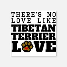 Tibetan Terrier Love Sticker