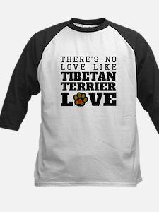 Tibetan Terrier Love Baseball Jersey