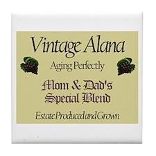 Vintage Alana Tile Coaster