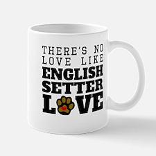English Setter Love Mugs