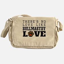 Bullmastiff Love Messenger Bag