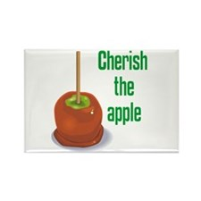 Candy Apple Rectangle Magnet