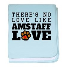 AmStaff Love baby blanket