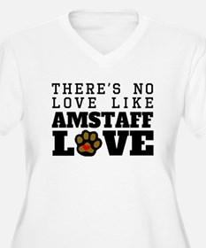 AmStaff Love Plus Size T-Shirt
