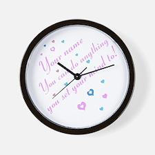 CAN DO Inspirational Saying Wall Clock
