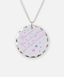 CAN DO Inspirational Saying Necklace