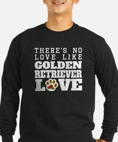 Golden Retriever Love Long Sleeve T-Shirt