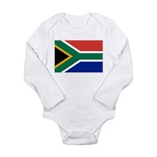 Unique Springboks Long Sleeve Infant Bodysuit