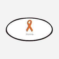 Strong. Orange ribbon Patch