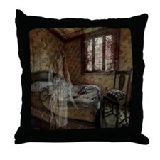 Just a nightmare Throw Pillow