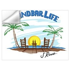 J Rowe Sandbar Life Wall Decal