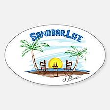 J Rowe Sandbar Life Decal