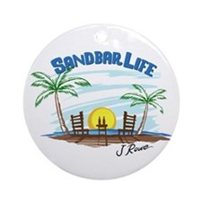 J Rowe Sandbar Life Round Ornament
