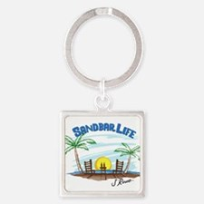 J Rowe Sandbar Life Keychains