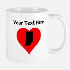 Indiana Heart Mugs