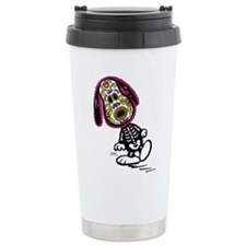 Day of the Dog Snoopy Stainless Steel Travel Mug