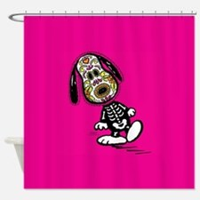 Day of the Dog Snoopy Shower Curtain