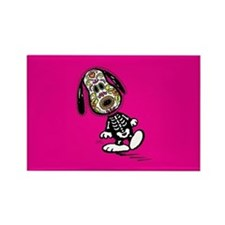 Day of the Dog Snoopy Rectangle Magnet