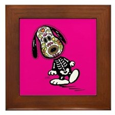 Day of the Dog Snoopy Framed Tile