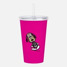 Day of the Dog Snoopy Acrylic Double-wall Tumbler