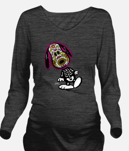 Day of the Dog Snoop Long Sleeve Maternity T-Shirt