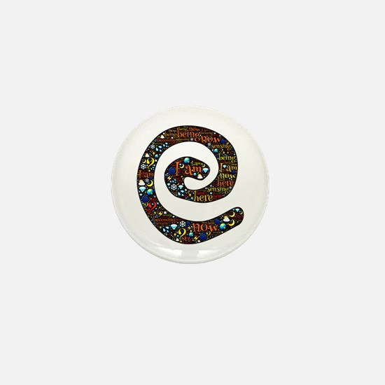 Sacred spiral of being, beco Mini Button (10 pack)