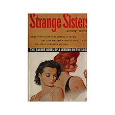 Strange Sisters Rectangle Magnet (10 pack)