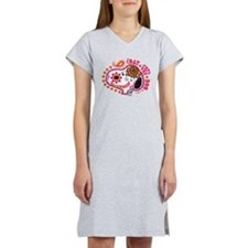Day of the Dog Snoopy Face Women's Nightshirt