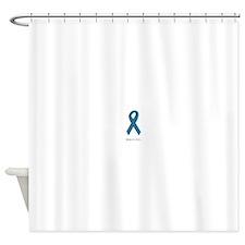 Beautiful. Teal Ribbon Shower Curtain