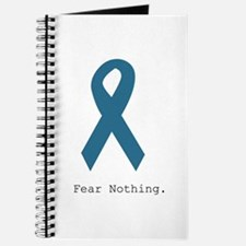 Fear Nothing. Teal Rib Journal