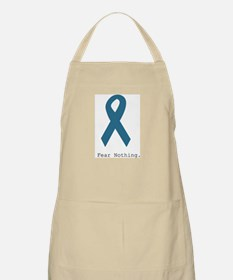 Fear Nothing. Teal Rib Apron
