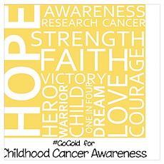 Childhood Cancer Poster