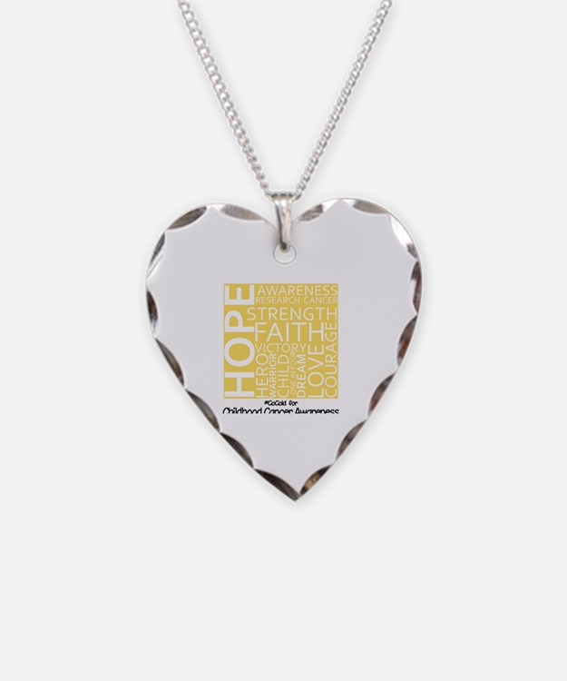 Childhood Cancer Necklace