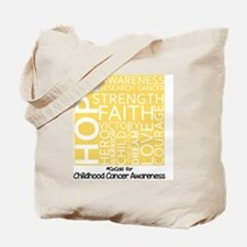 Childhood Cancer Tote Bag
