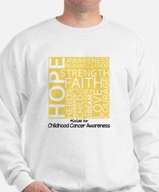 Childhood Cancer Sweatshirt