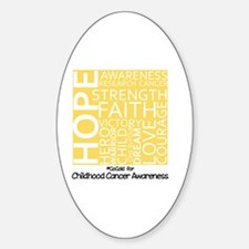 Childhood Cancer Decal