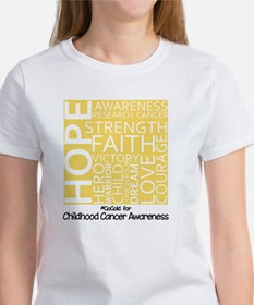 Childhood Cancer Women's T-Shirt