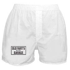 old fart garage Boxer Shorts