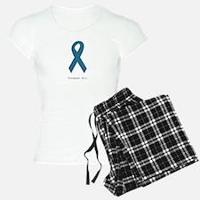 Conquer All. Teal Ribbon Pajamas