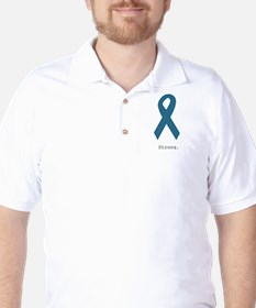Strong. Teal Ribbon T-Shirt