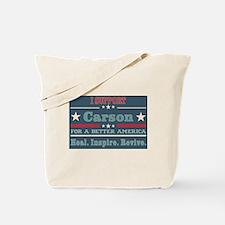 Dr Ben Carson Tote Bag