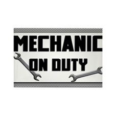 mechanic on duty Magnets