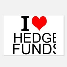 I Love Hedge Funds Postcards (Package of 8)
