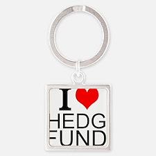 I Love Hedge Funds Keychains