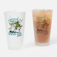 J Rowe Snook - Game On Drinking Glass