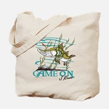 J Rowe Snook - Game On Tote Bag